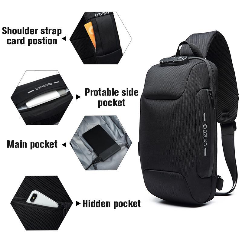 Magoloft ™ Anti-theft Backpack With 3-Digit Lock
