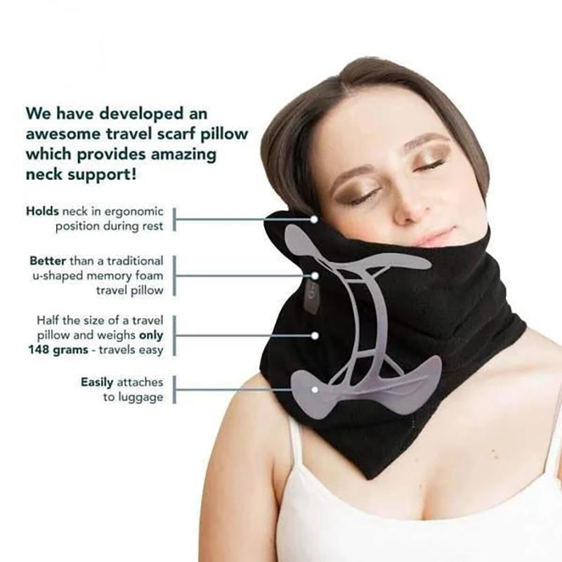 The ULTIMATE Travel Pillow with Extra Neck Support