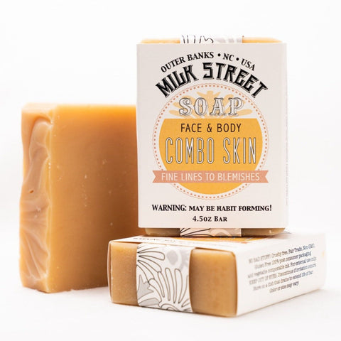 Combo Skin Vegan Soap Bar