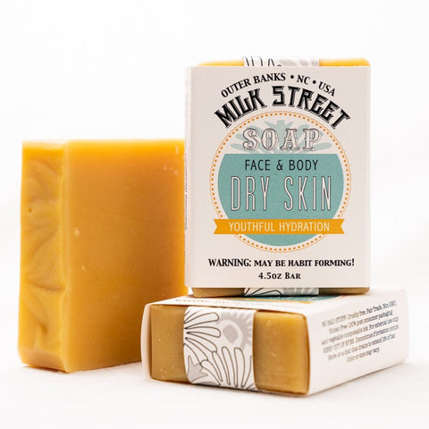 Dry Skin Goat Milk Soap Bar