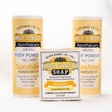 Sunshine Organic (Talc Free) Vegan Body Powder
