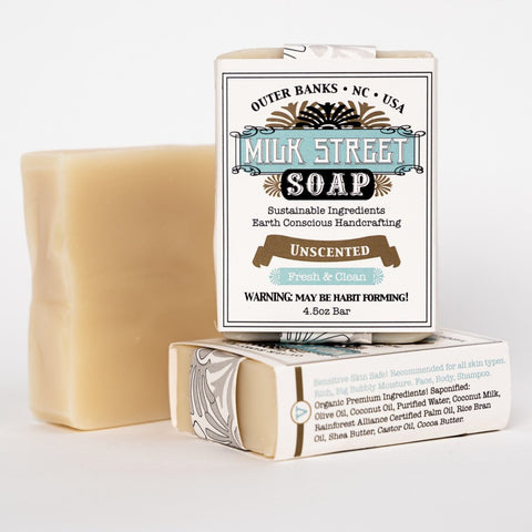 Unscented Vegan Soap Bar