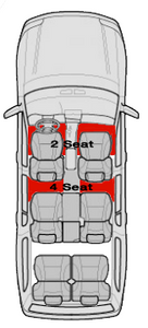 Mats for 4 Seats