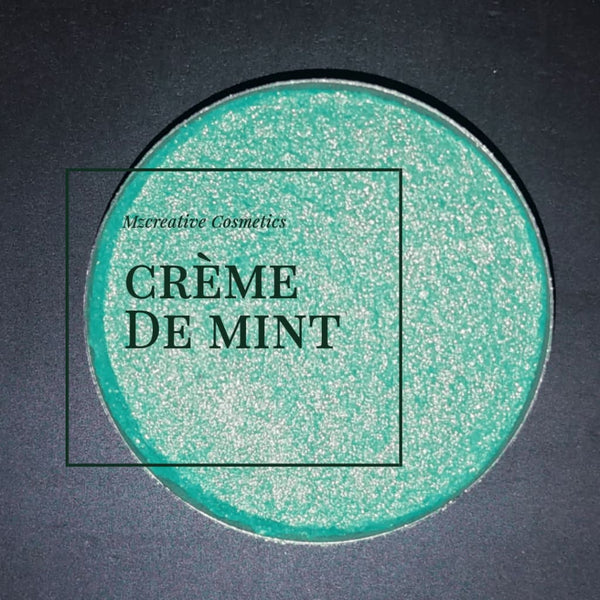 Creme De Mint Pressed Eyeshadow - pressed eyeshadow