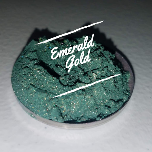 Emerald Gold Loose Eyeshadow Pigment - Loose Pigment