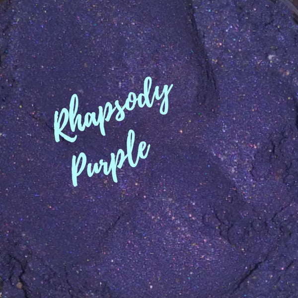 Rhapsody Purple Loose Eyeshadow Pigment - Loose Pigment