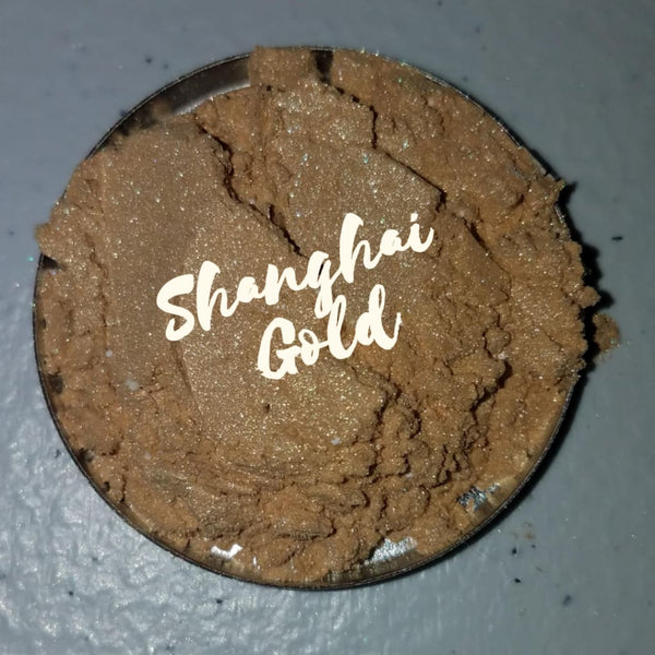 Shanghai Gold Loose Eyeshadow Pigment - Loose Pigment