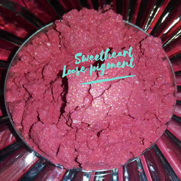 Sweetheart Pink| Loose Pigment Eyeshadow - Loose Pigment