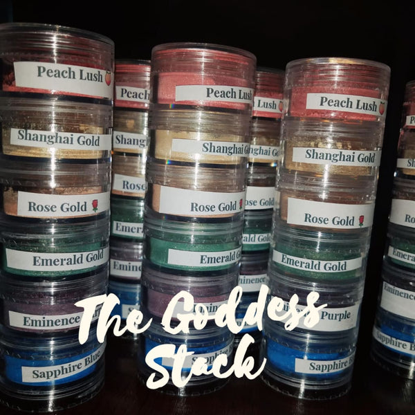 The Goddess Loose Eyeshadow Pigment Stack - Pigment Stacks