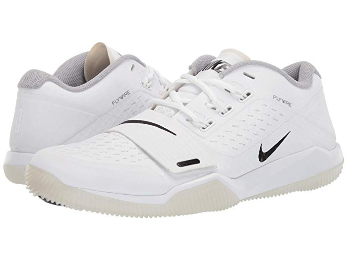 [NIKE(ナイキ)] メンズスニーカー・靴・シューズ Alpha Menace Turf Low White/Black/Wolf Grey