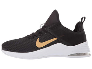 [NIKE(ナイキ)] レディーススニーカー・靴・シューズ Air Max Bella TR 2 Black/Metallic Gold/Gunsmoke/Vast Grey