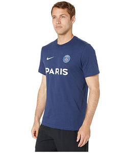 [NIKE(ナイキ)] シャツ・ワイシャツ等 Paris Saint-Germain Core Match Mock Neck Tee Midnight Navy