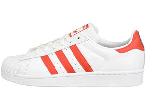 [adidas(アディダス)] レディーススニーカー・靴・シューズ Superstar W Footwear White/Active Red/Core Black