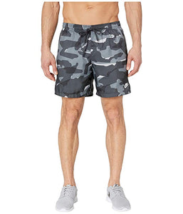 [NIKE(ナイキ)] メンズパンツ・ショーツ等 NSW Camo Shorts Woven Cool Grey/Anthracite/White