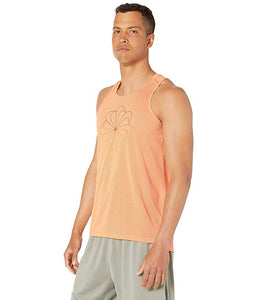 [NIKE(ナイキ)] シャツ・ワイシャツ等 Miler Cool GX HBR Tank Top Fuel Orange/Reflective Silver