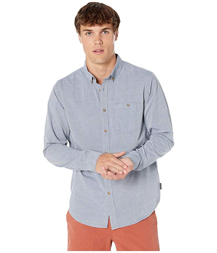 [BILLABONG(ビラボン)] シャツ・ワイシャツ等 All Day Long Sleeve Woven Blue (S)