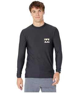 [BILLABONG(ビラボン)] メンズ水着・オーバーウェア Psycho Wave Loose Fit Long Sleeve Black (S)