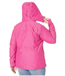 [Columbia(コロンビア)] レディースウェア・ジャケット等 Plus Size Alpine Action Omni-Heat Jacket Fuchsia