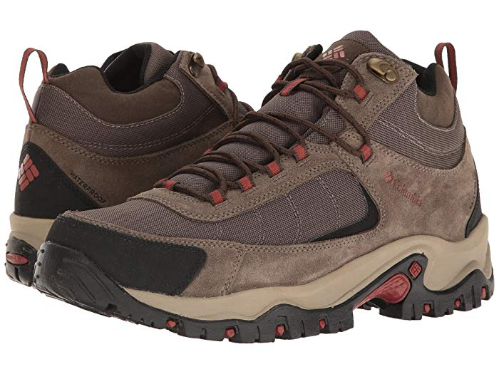 [Columbia(コロンビア)] メンズブーツ・靴 Granite Ridge Mid Waterproof Mud/Rusty (26.5cm) E - Wide