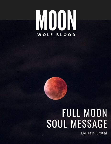 Wolf Blood Moon Message