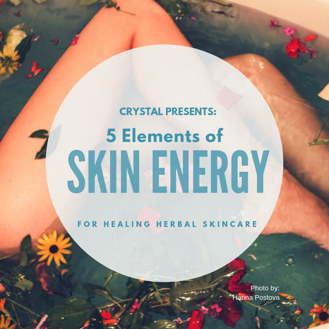 "Herbal Skincare ""Skin Energy"" Guide Book 1"