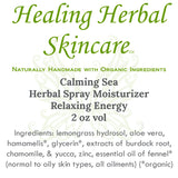 Calming Sea Herbal Spray Moisturizer