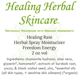 Healing Rain Herbal Skincare Spray Moisturizer