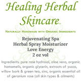 Rejuvenating Spa Herbal Skincare Spray Moisturizer