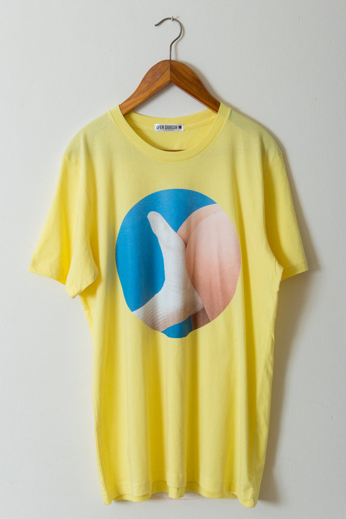 Kickontje T - Shirt (Yellow)