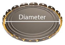 Lid Diameter Diagram