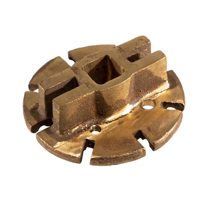 "Detail 11:  Upper Spider - 6-1/2"" - 8 Lug (Brass)"