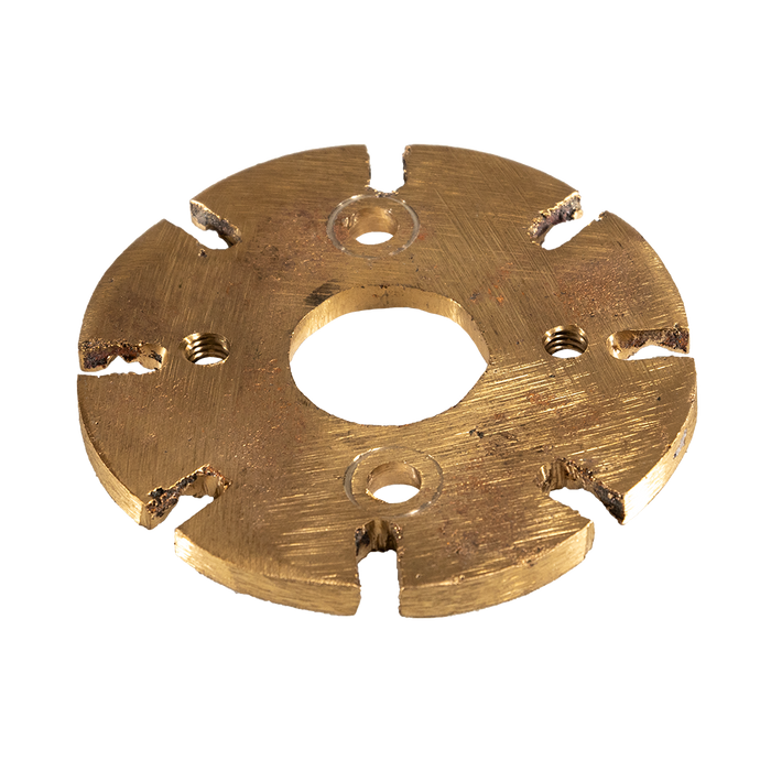 "Detail 9:  Lower Spider - 6-1/2"" - 8 Lug (Brass)"