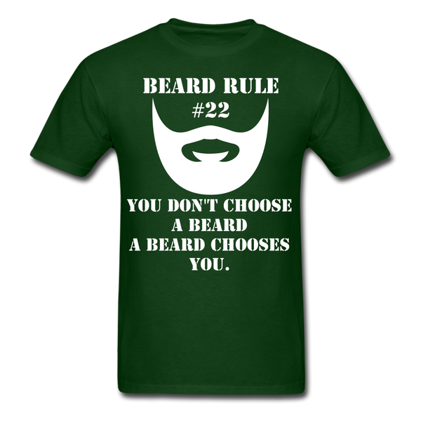 Beard Rule #22 T-Shirt - BeardedMoney