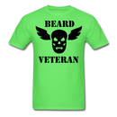 Beard Veteran T-Shirt - bearded-money