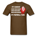 It's Sunday Comb Your Beard T-Shirt - BeardedMoney