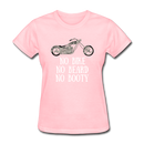 No Bike, No Beard, No Booty T-Shirt - BeardedMoney