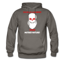 I'M Bald & Bearded Screw Mother Nature Hoodie - bearded-money
