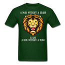 A Lion Without A Mane T-Shirt - bearded-money