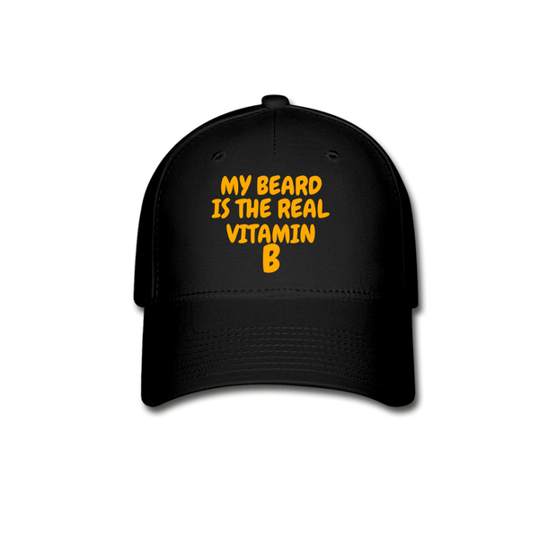 My Beard Is The Real Vitamin B Cap - bearded-money