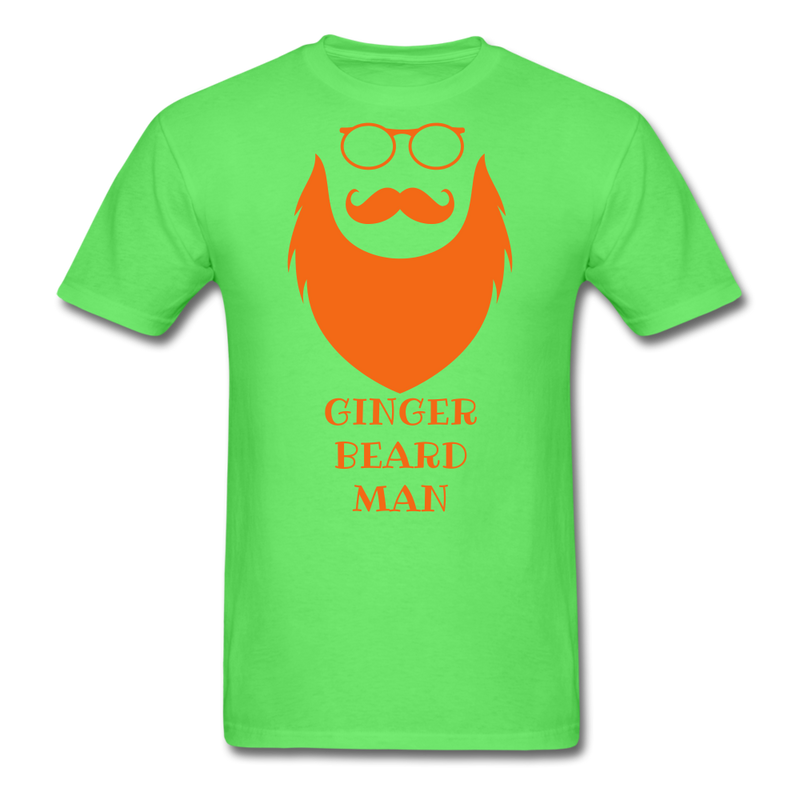 Ginger Beard T-Shirt - bearded-money