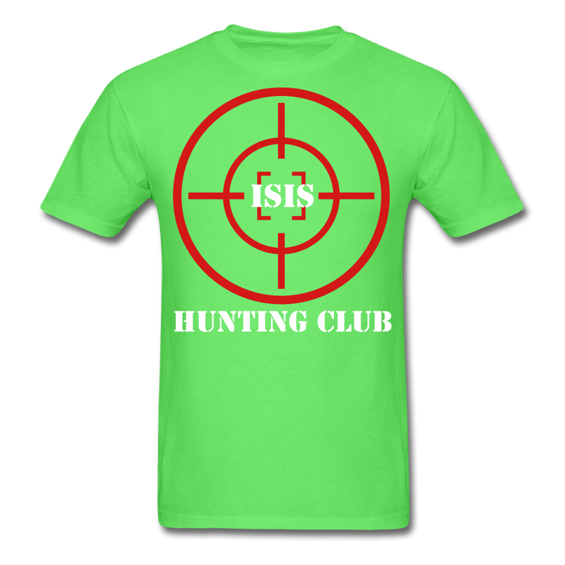 Isis Hunting Club T-Shirt - bearded-money