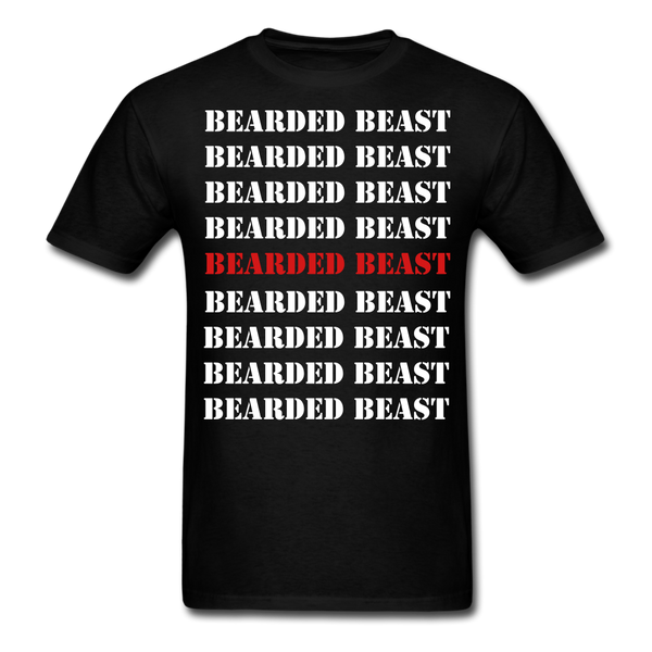 Bearded Beast T-Shirt - BeardedMoney