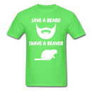 Save A Beard T-Shirt - BeardedMoney