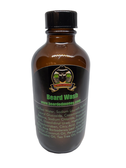 Sandalwood Vanilla Beard Wash - BeardedMoney