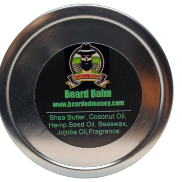 Cedar Leather balm - BeardedMoney