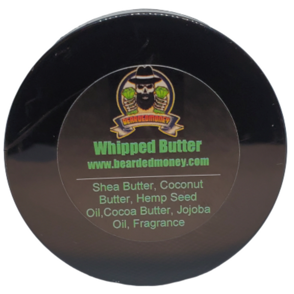 Whipped Masculine Beard & Body Butter (Our Version Of Cool Water Fragrance) - BeardedMoney