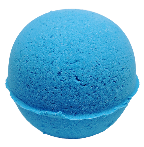 Oatmeal And Honey Texas Blue Balls Bath Bomb
