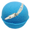 Charmer Texas Blue Balls Bath Bomb (Our Version Of Prince Charming)With a Surprise Necklace Inside.