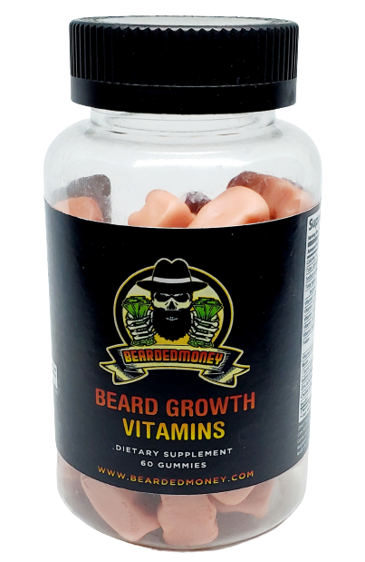 Beard Growth Vitamin, grow your beard with our bearded growth Vitamin. Our Beard Growth Vitamin will sprout hair absolutely everywhere!