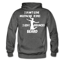 I Don't Give Mustache Rides, I Give Beard Bounces Hoodie - BeardedMoney